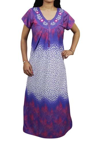 Look good and feel relaxed by wearing this printed Hosiery Cotton Sleepwear.  Made of the best quality Hosiery Cotton fabric 630b5b2c1