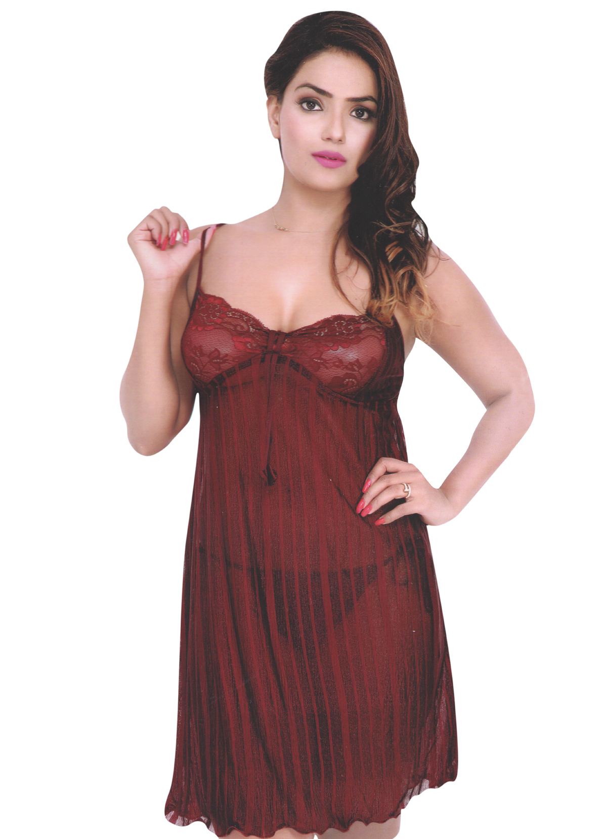 04996a10ba Look sexy and appealing by wearing this Net night dress from Indiatrendzs.  If You Want To Hot Sexy Spice Things Up A Little In the Bedroom then wear  and ...