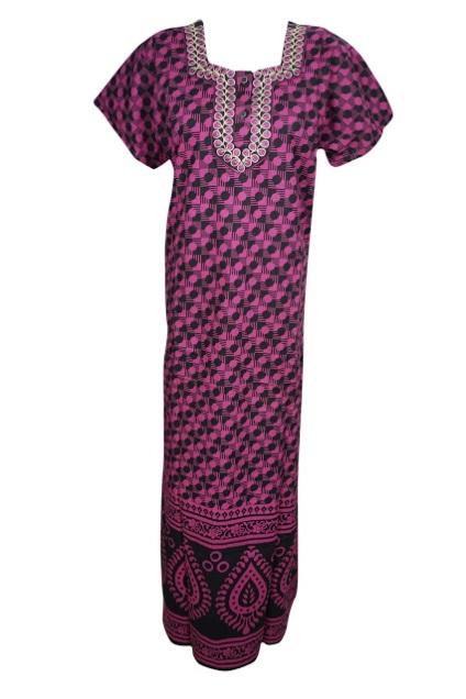 Women Embroidered Nightwear s Shop By Indiatrendzs At FLIPKART. Indiatrendzs  Women s Nighty a19c1b903